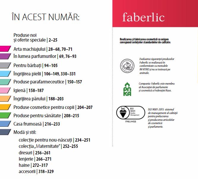 Faberlic revine în România!